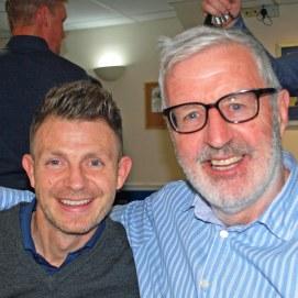 Jamie Cureton & Geoff Twentyman