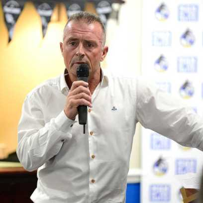 Jones today, introducing the BRFPA to our inaugural Former Players Dinner in April 2017