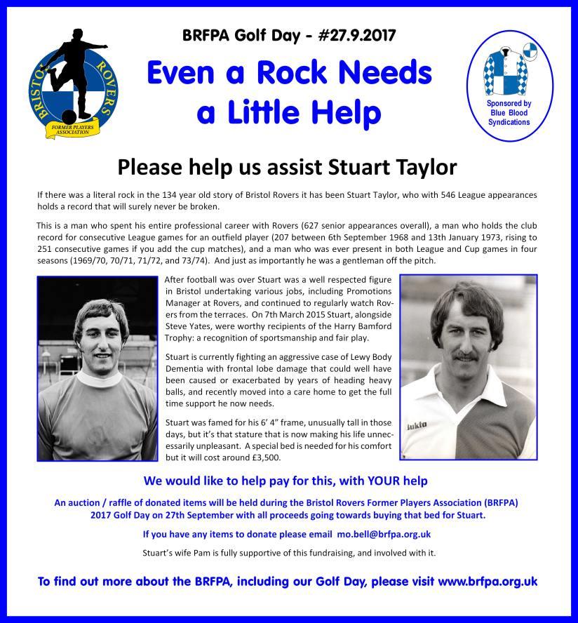 Assisting Stuart Taylor