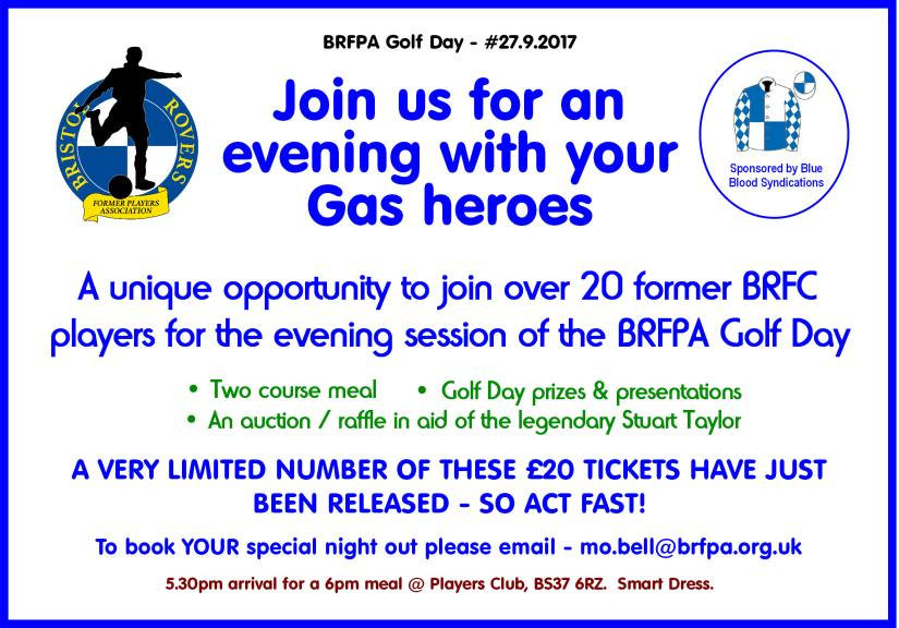 The BRFPA Golf Day 2017 - Evening Only