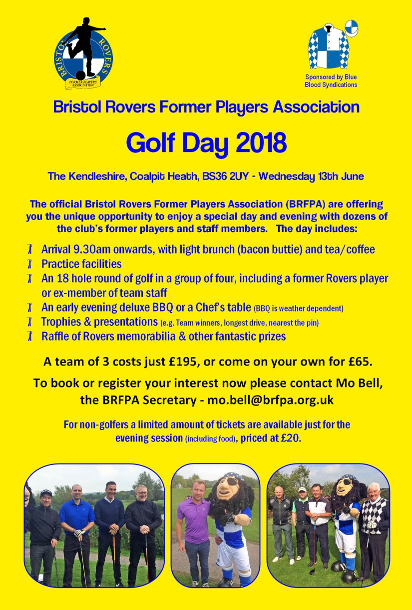 BRFPA Golf Day 2018 - Advert