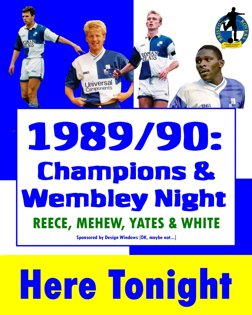 1989- 90 Champions & Wembley night - Minimal - Poster for night