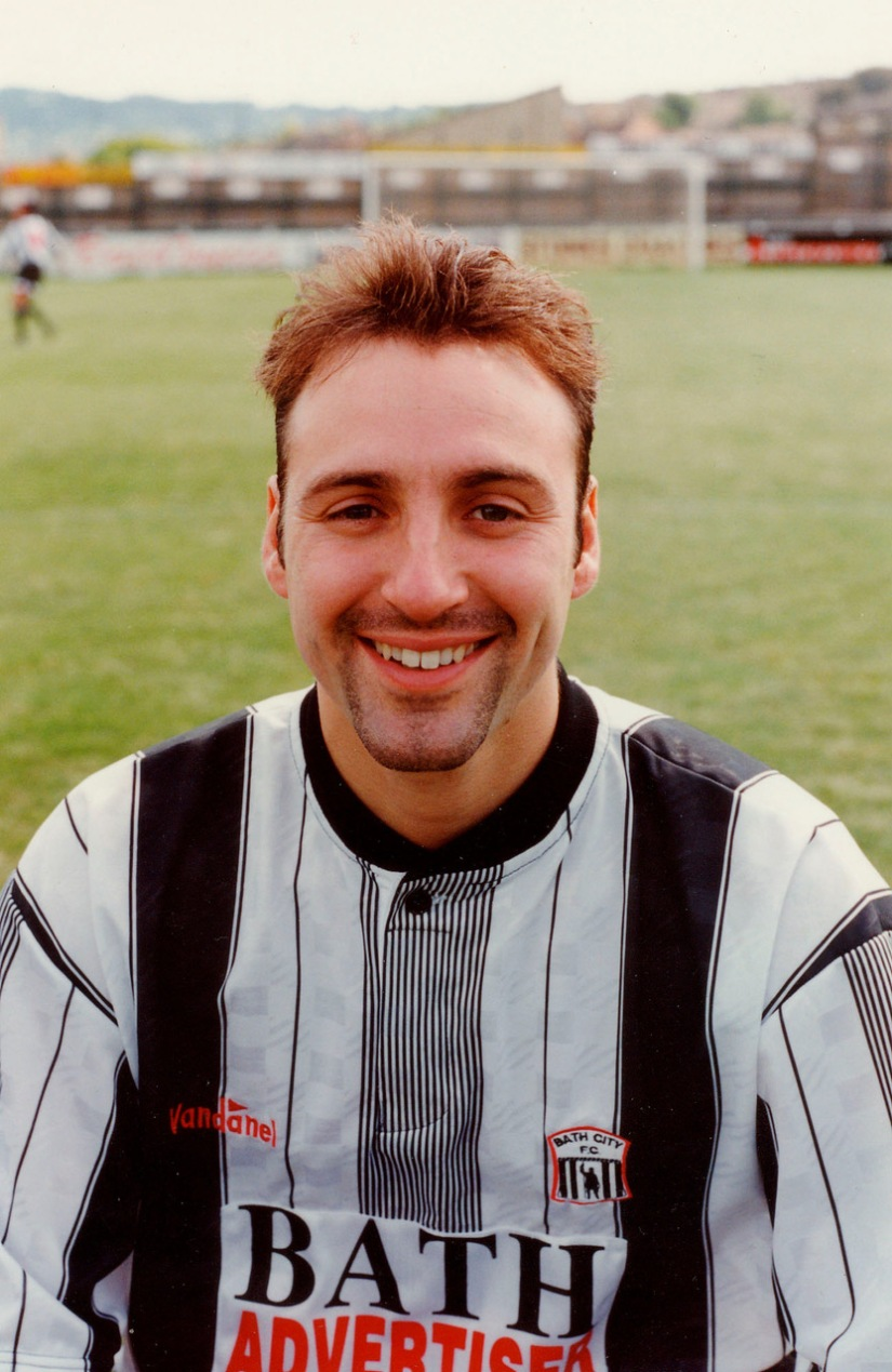 Gary Smart - taken after he_s moved on from the Gas and was playing for Bath City - photo credit Neil Brookman