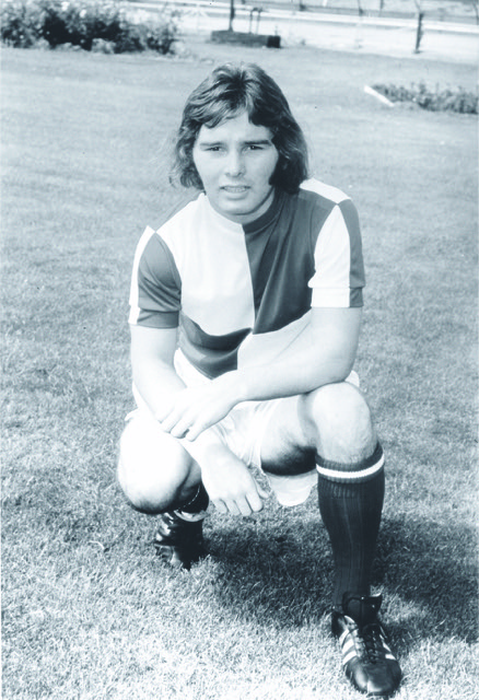 Peter Aitken - scored his first Rovers goal on New Year_s Day 1977 - no credit