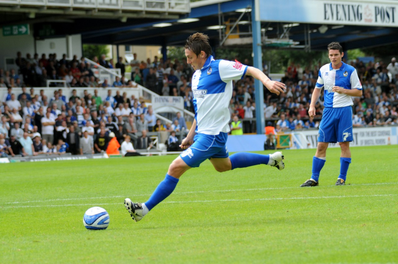 Darryl Duffy missed this penalty against Huddersfield in 2009 [Photo Credit - Neil Brookman]