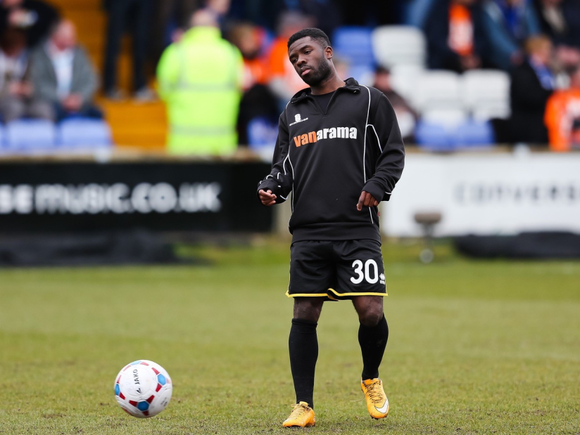 Abdulai Bell-Baggie - Photo Credit Neil Brookman