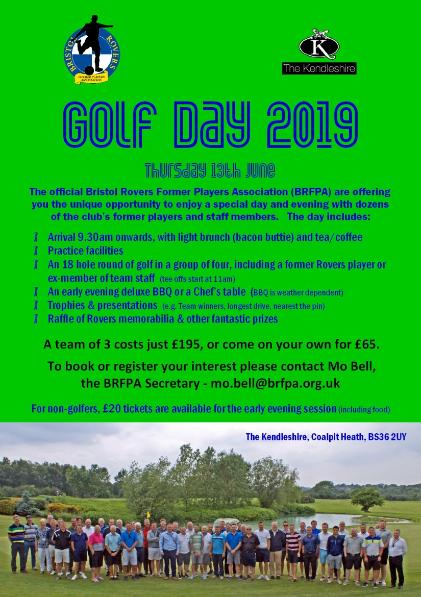 BRFPA Golf Day - 2019 - Advert