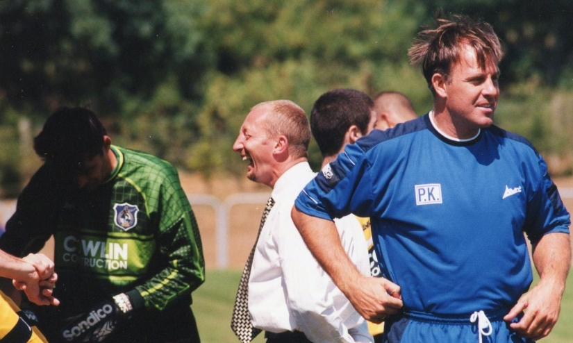 Ian Holloway and physiology Phil Kite