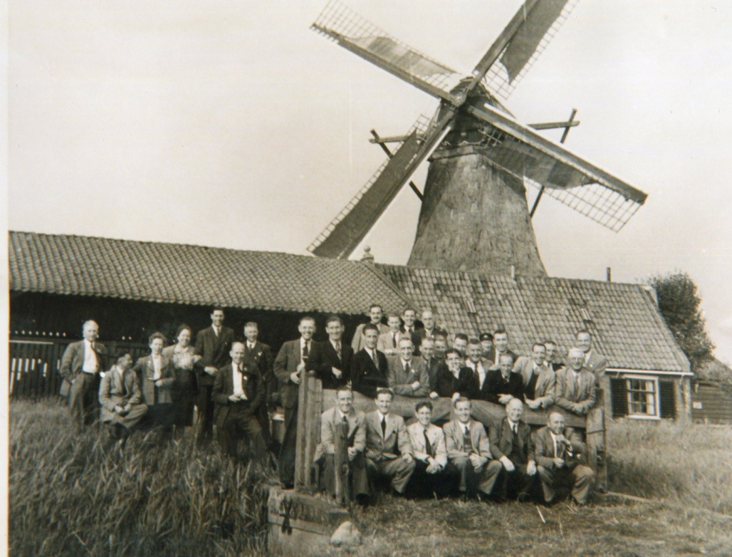 The windmill tells you that this was taken somewhere in Holland