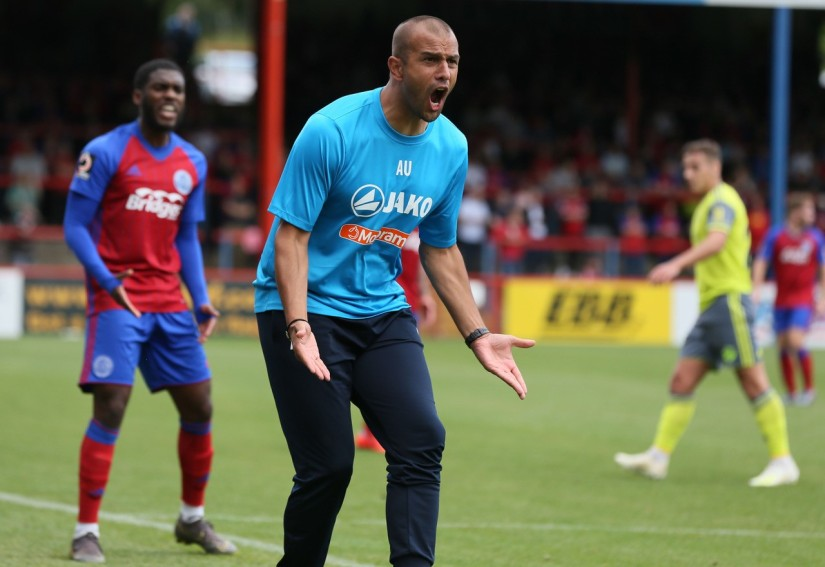 Anwar Uddin - Photo Credit courtesy of Ian Morseman, Aldershot Town