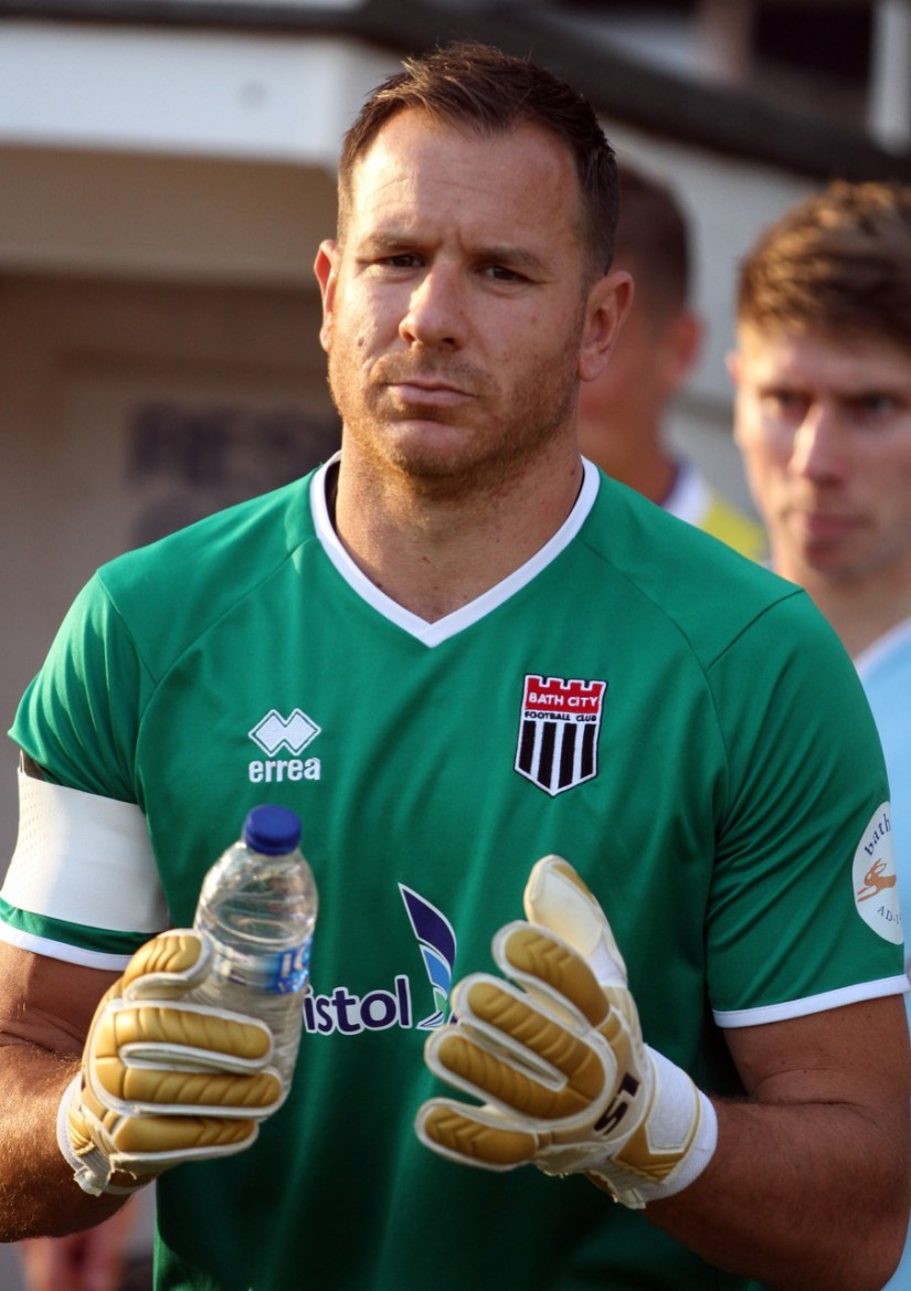 Ryan Clarke - photo credit Bath City photographer Simon Howe