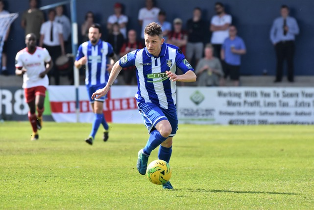 Jamie Cureton, now in sole charge at Bishop's Stortford. Photo courtesy of Nathan Cracknell