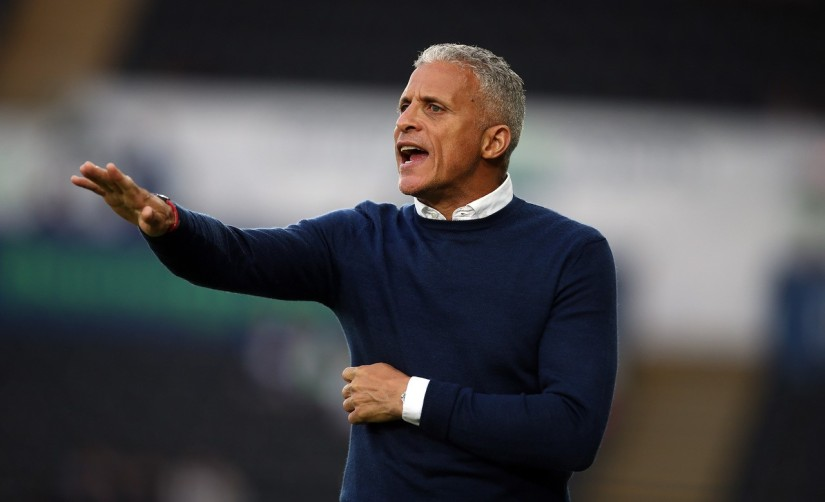 Keith Curle, Northampton Town Manager - Photo courtesy of Pete Norton, official Northampton Town photographer