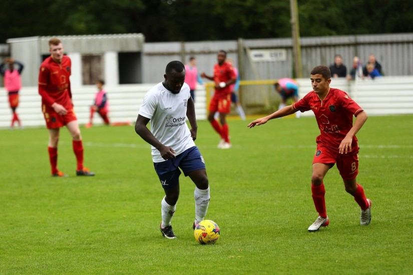 Yate Town's Sam Kamara - Photo courtesy of B. East Photography