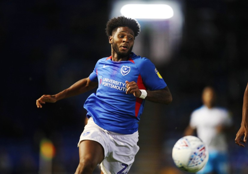 Ellis Harrison, who scored twice for Portsmouth against Southend United. Photo courtesy of Neil Weld, Portsmouth FC
