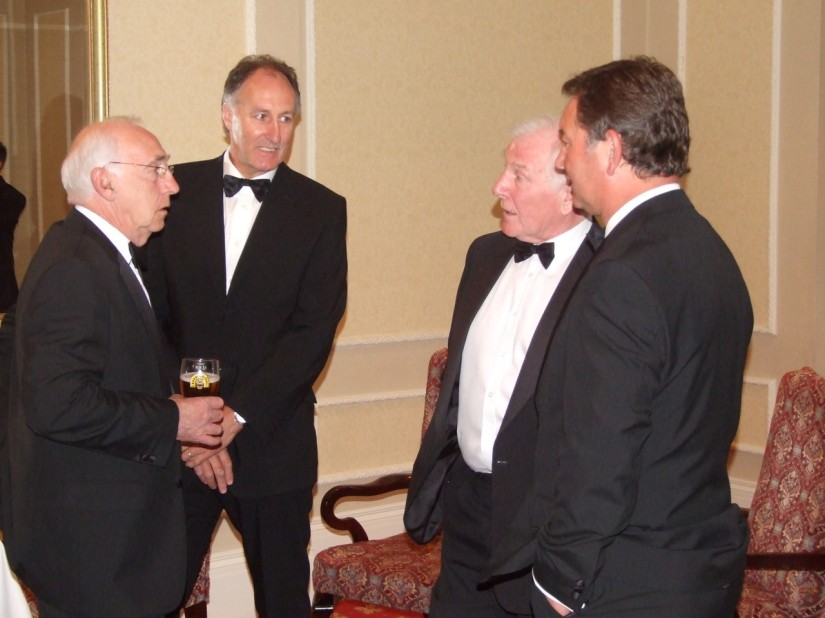 Harold Jarman, Stuart Taylor, Don Megson and Peter Aitken. reminisce!