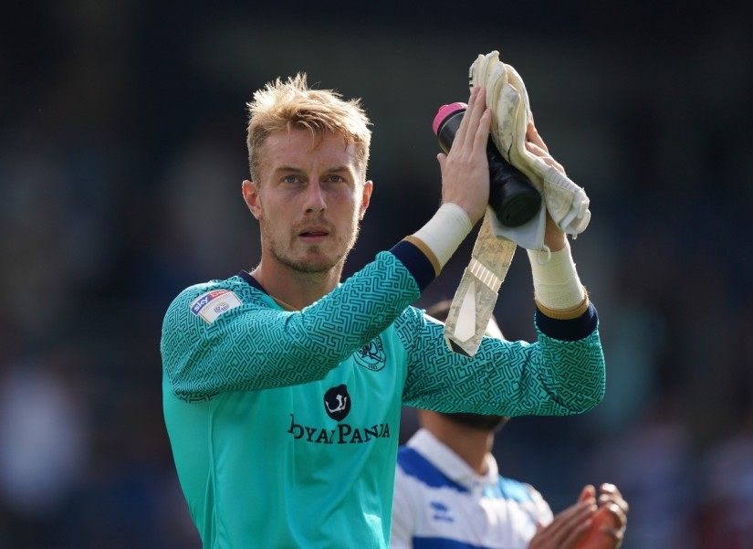 Joe Lumley, who returned to the QPR side for their 2-2 draw against Middlesbrough. Photo courtesy of Matt Webb, QPR FC
