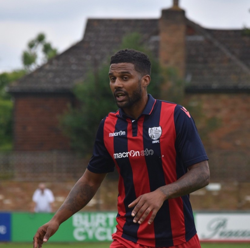 Louie Soares, who holds the joint record for the shortest Rovers career (one minute) with Kayne McLaggon, is now playing for Hampton & Richmond Borough. Photo courtesy of Ben Harrison-Hyde