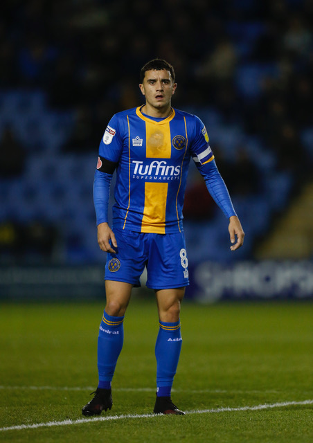 Soccer - Sky Bet League One - Shrewsbury Town v Peterborough United