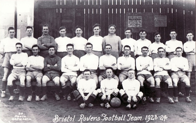 Rovers team group from 1923-24. Jesse Whatley is seventh from the left, back row. No photo credit