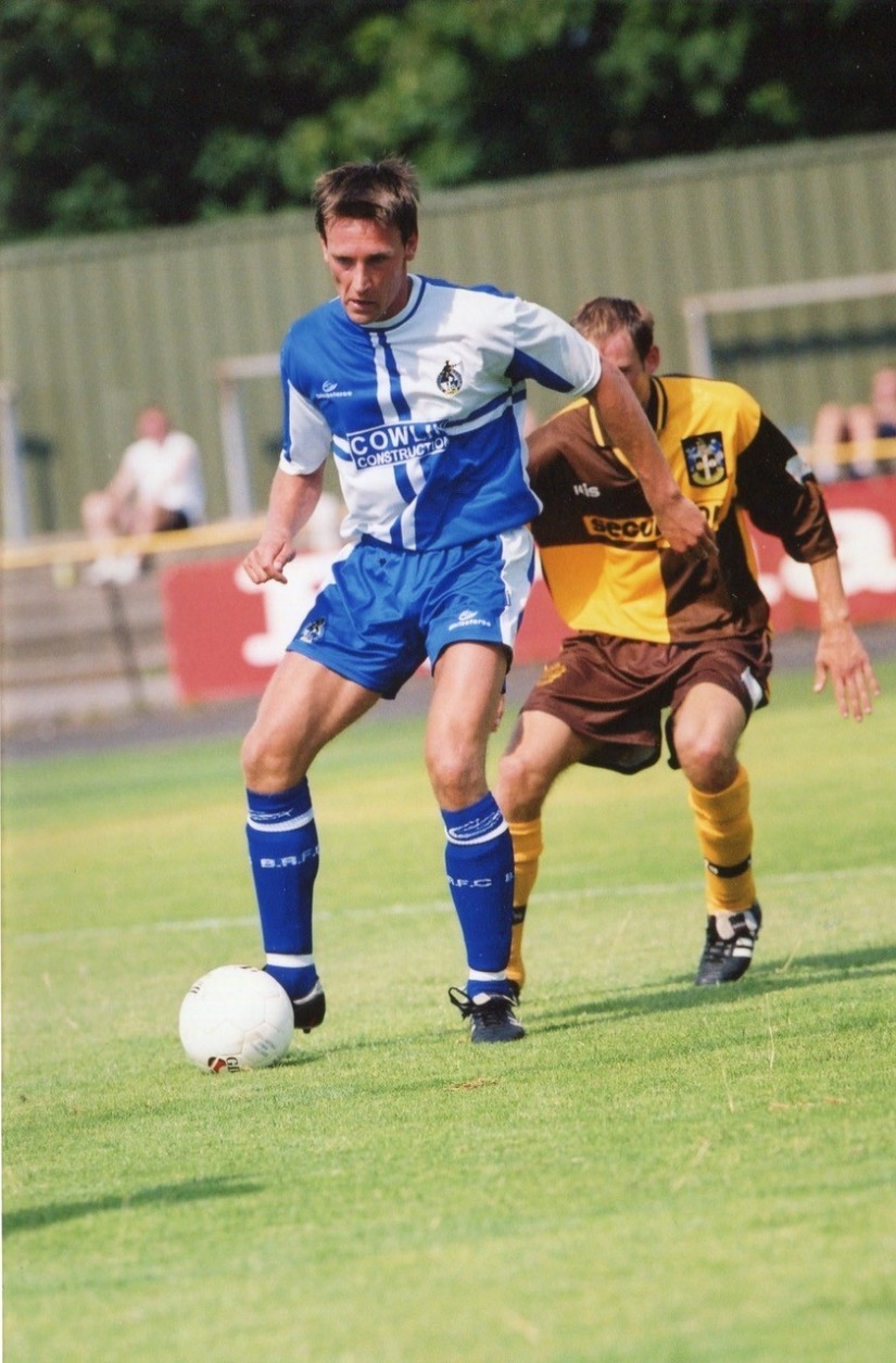 Ville Viljanen, the Finnish international who played for Rovers against Sutton United - Photo Credit Alan Marshall