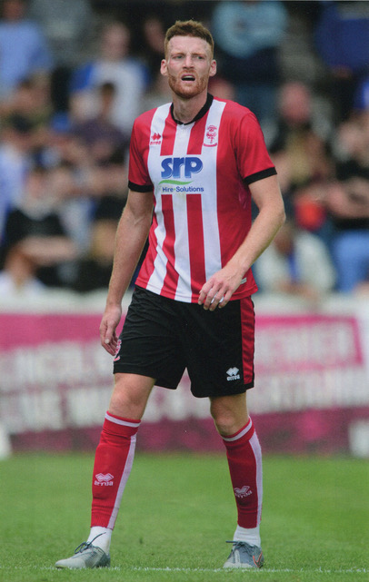 Can Bolger, whose Lincoln City side were beaten 1-0 at Coventry City at the weekend. Photo courtesy of Tom Bullivant, Lincoln City FC