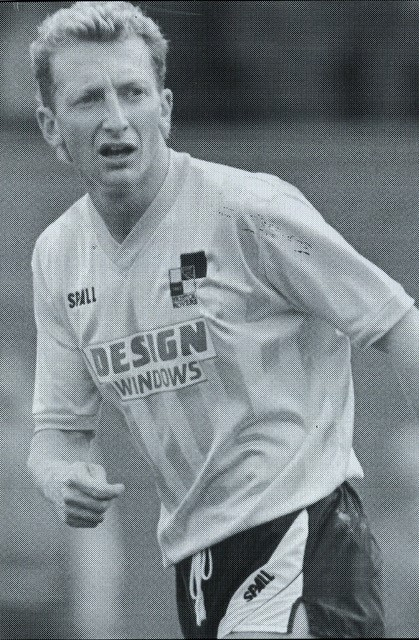 Ian Holloway - scored a penalty against Rotherham...
