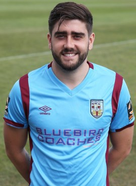 Josh Wakefield who is now a regular in the Weymouth side
