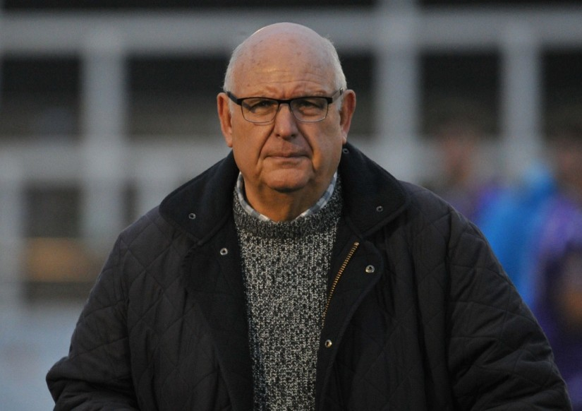 Maidstone United Director of Football John Still, whose side were beaten 3-2 by Concord rangers in last Saturday's FA Trophy First Round tie. Photo courtesy of Ian Tucker & Steve Torvell, Maidstone United FC