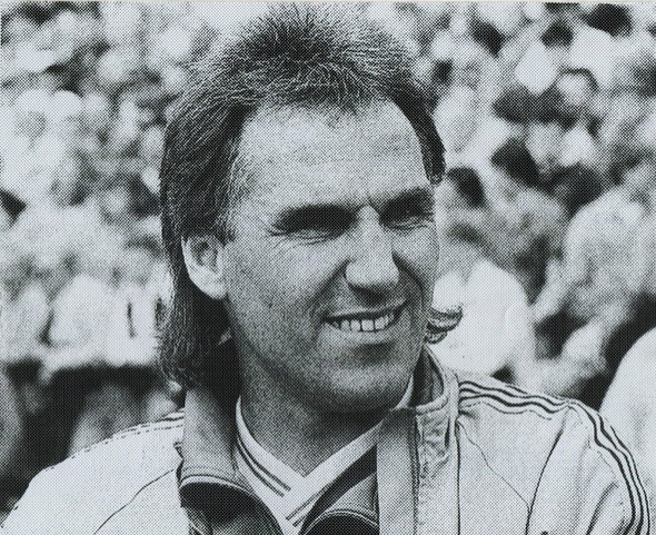 Manager Gerry Francis - No photo credits on any off the January pics