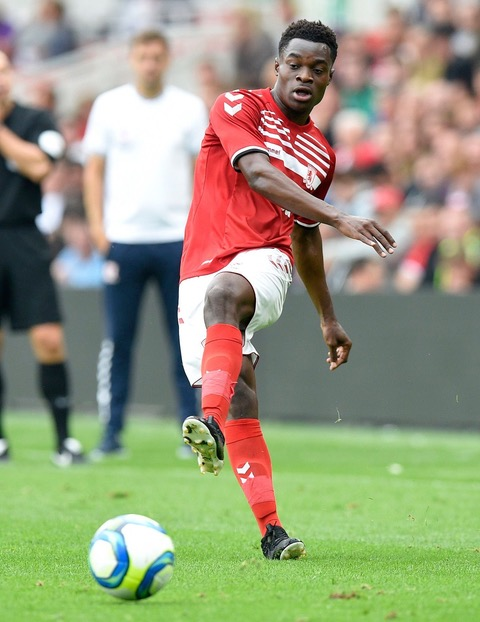 Middlesbrough v AS Saint-Etienne, Pre-Season Friendly, Football, The Riverside Stadium, Middlesbrough, UK - 28 Jul 2019