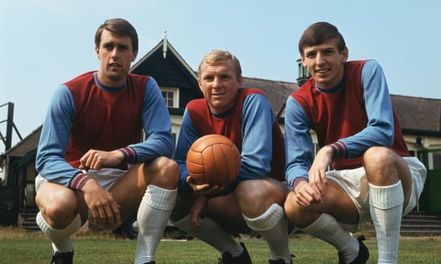 Not sure if this one is large enough. Hurst, Moore and Peters of West Ham. No credit