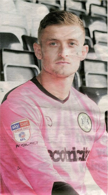 Adam Smith, now enjoying an extended run between the posts for Forest Green Rovers. No credit for this one