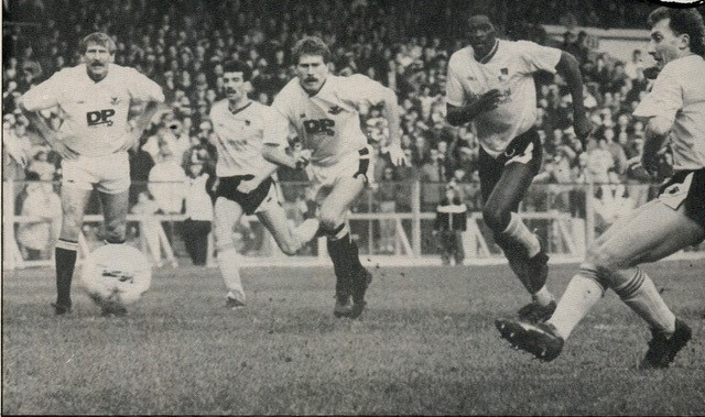 …who missed a penalty against Swansea - Both photos courtesy of Alan Marshall