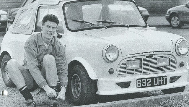 Marcus Browning and his mini! - NO PHOTO CREDIT ON THIS ONE