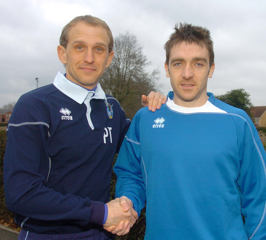 pic jeffdavis.co.uk: Paul Hefferman and Paul Trollope
