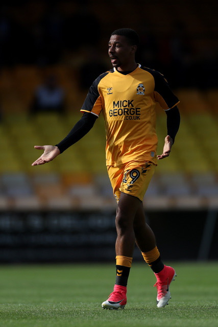 Port Vale v Cambridge United, Sky Bet League Two, Football, Vale Park, UK - 31 Aug 2019