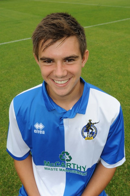 Ross Staley, who has returned to these shores after two years in Australia and signed on again for Taunton town. He made his second debut for them last Saturday. Photo courtesy of Jeff Davies.