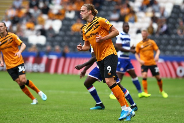 Tom Eaves, who scored an FA Cup hat trick for Hull City last week. Photo courtesy of Ben, Hull City FC