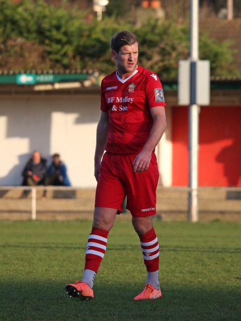 Adam Cunnington who recently scored his first goals for Hornchurch. NO CREDIT ON THIS ONE
