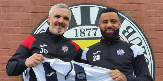 Alex jakubiak, who joined St Mirren on transfer deadline day. NO CREDIT ON THIS ONE