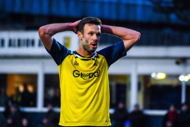 Andy Monkhouse, who is now playing for Tadcaster Albion. NO CREDIT