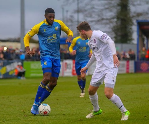 Nathan Blissett, whose Solihull Moors side occupy the final play off place in the National League. NO CREDIT ON THIS ONE
