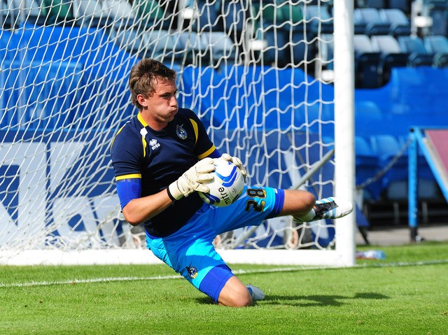 Sam Walker, now a regular on the bench for Reading. Photo courtesy of Neil Brookman