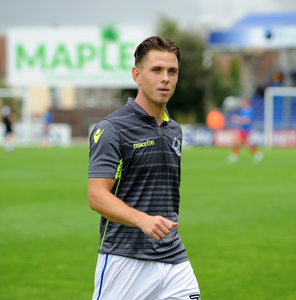 Charlie Colkett, who played in Belgium for Vitesse Arnhem. Photos Credit Neil Brookman