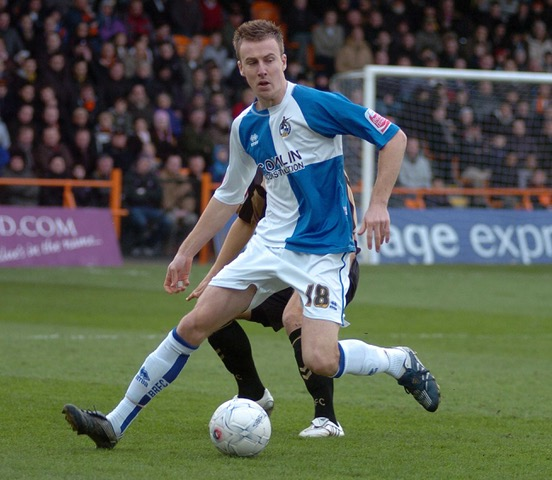 picture JeffDavis.co.uk: Barnet v Bristol Rovers: Chris Lines on the ball