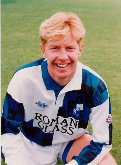 Gary Waddock, who played in Belgium for Charleroi. Photo Credit Alan Marshall