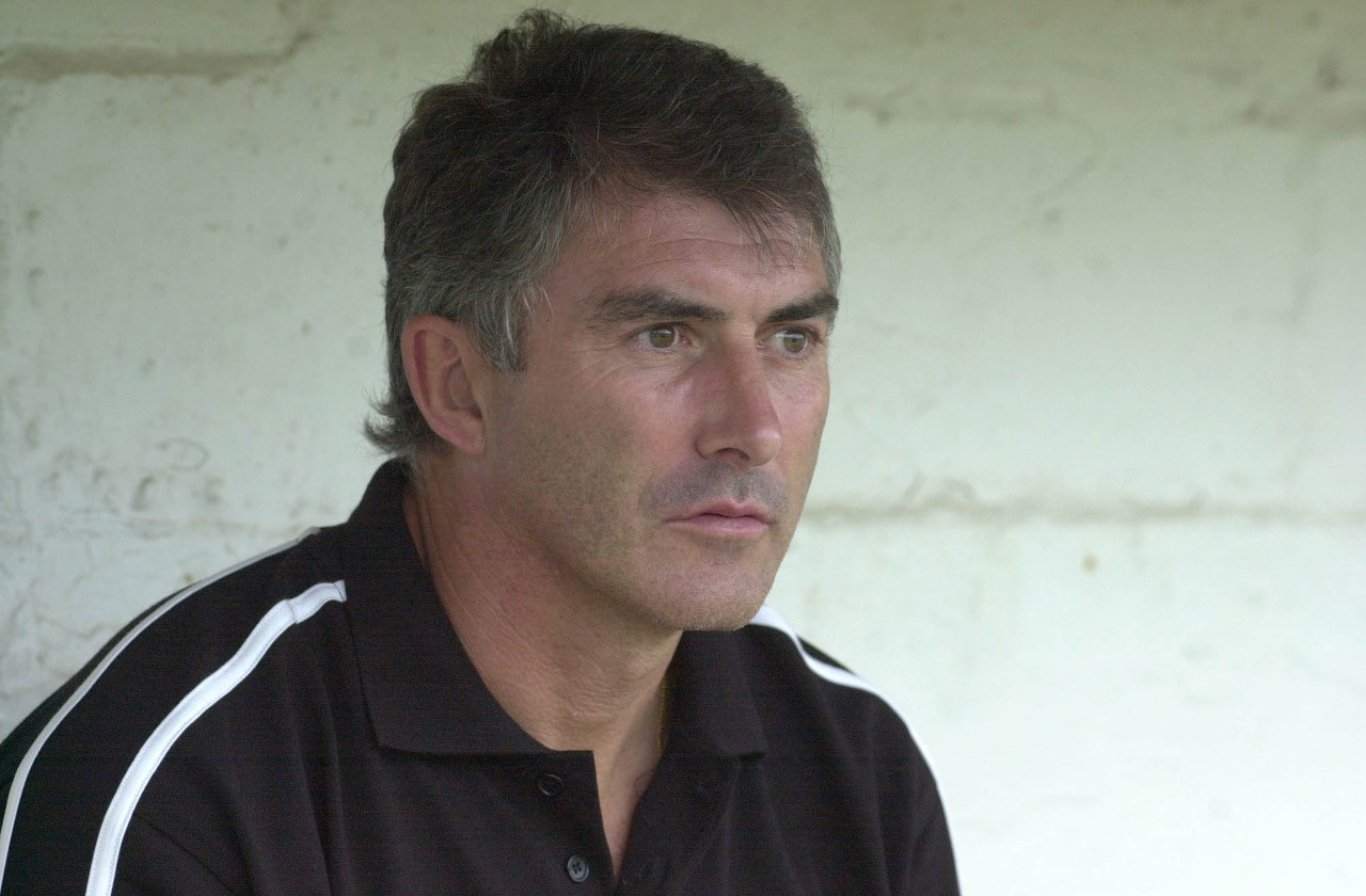Rovers manager Ian Atkins. Photo credit Neil Brookman